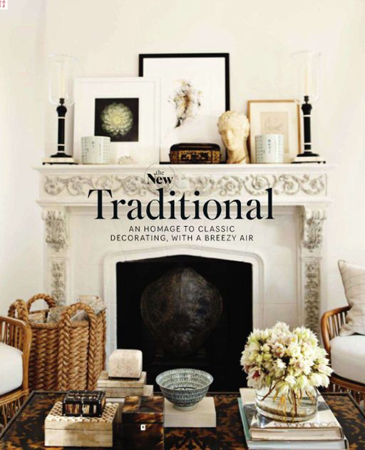 traditional mantle vignette