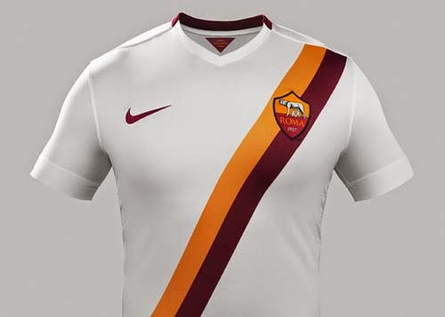 Nike released 2014-15 AS Roma away kit