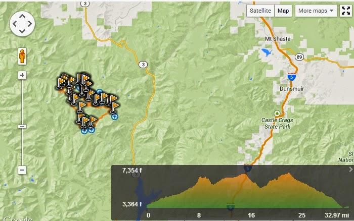 Peachy Hiker: Trinity Alps Coffee Creek Loop