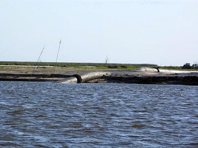 Lake Hermitage Marsh Creation project