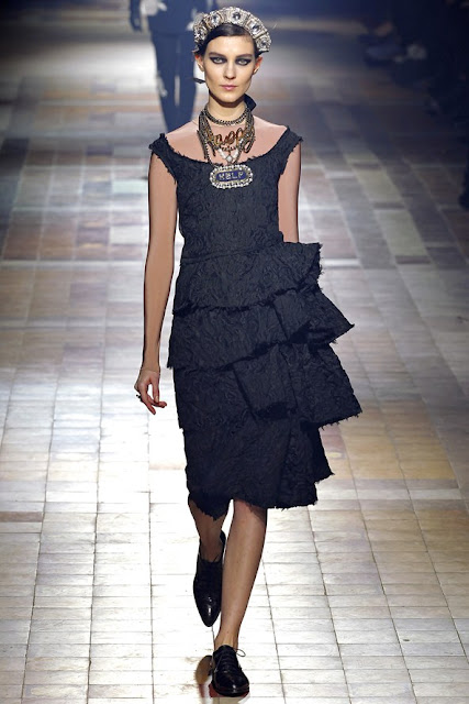 lanvin autumn winter 2013 2014 little black dress