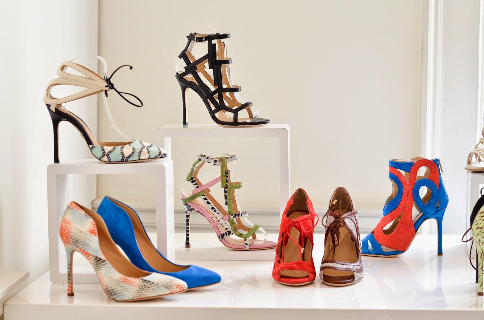 Chelsia Paris Designer Showrooms shoes