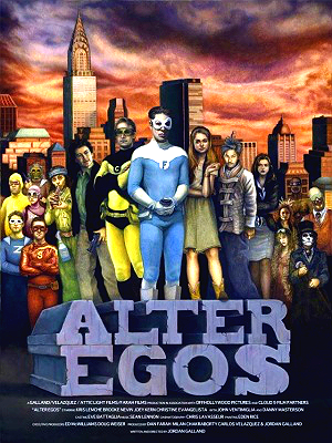 Filme Poster Alter Egos DVDRip XviD &amp; RMVB Legendado