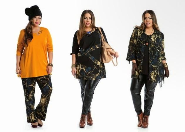 Осенняя Одежда Для Полных Девушек