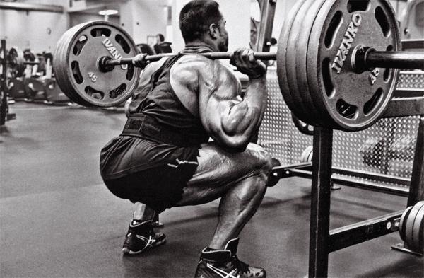 squat intensity