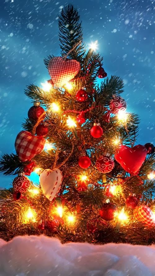 Best Christmas Wallpapers For Iphone In 2013