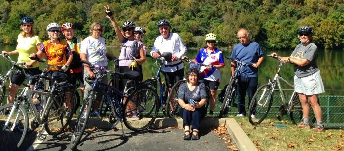 GAP and C&O group ride: group dynamics