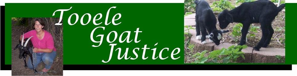 Tooele Goat Justice League