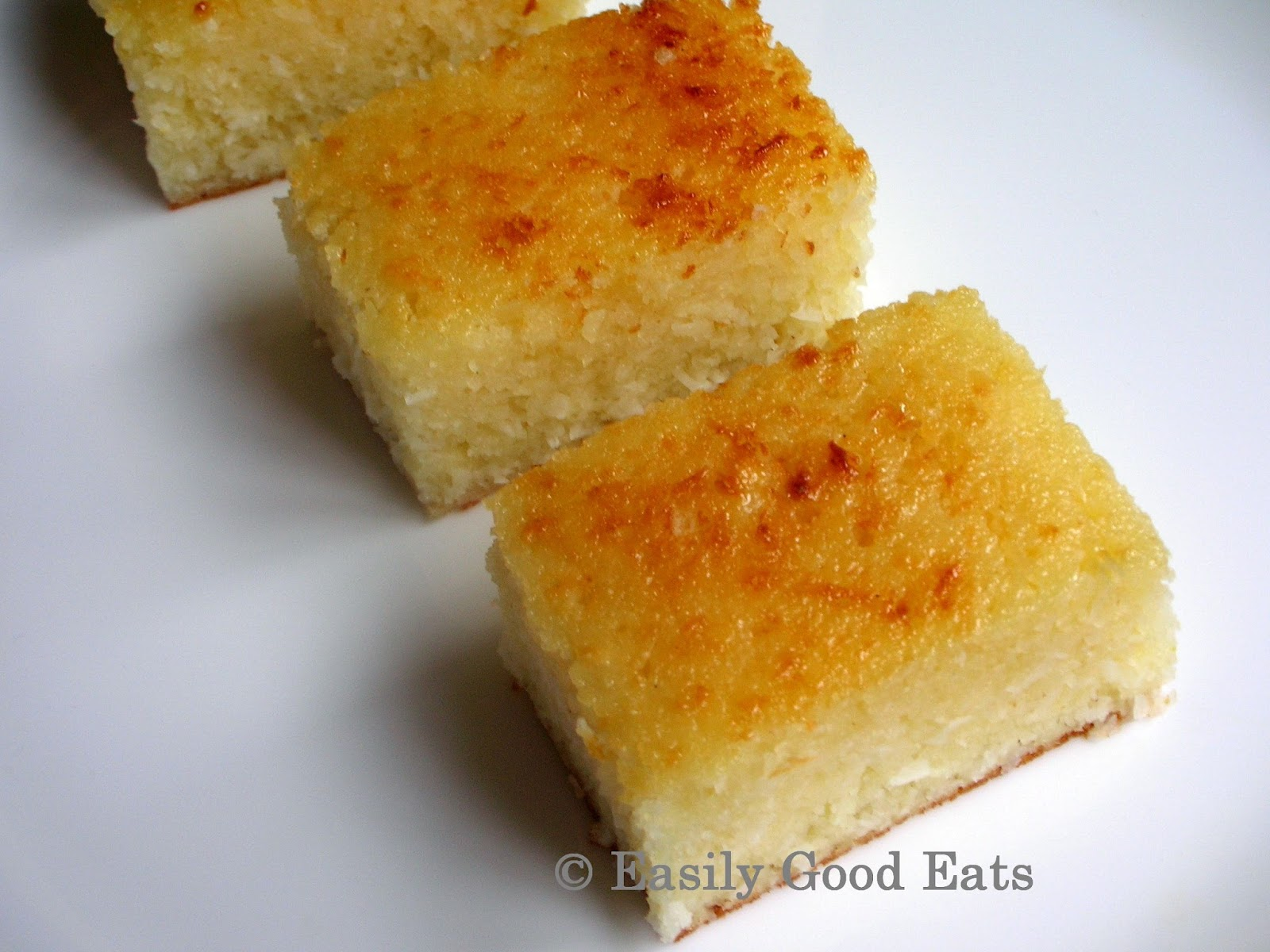 Lemon Coconut Cake With Buttermilk