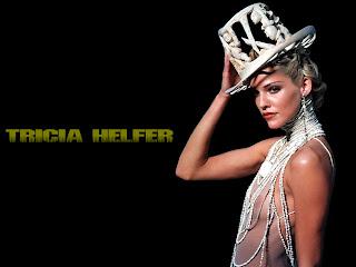 Tricia Helfer hd Wallpaper
