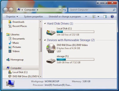 Windows Explorer - How to Format External Hard Drive Compatible With indows
