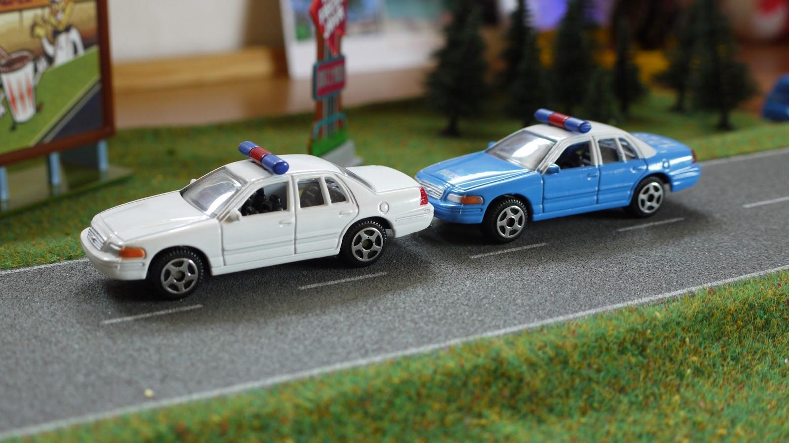 Diecast Cars 1 64 Modellautos 164 Modellbilar 1970 Ford Police Car