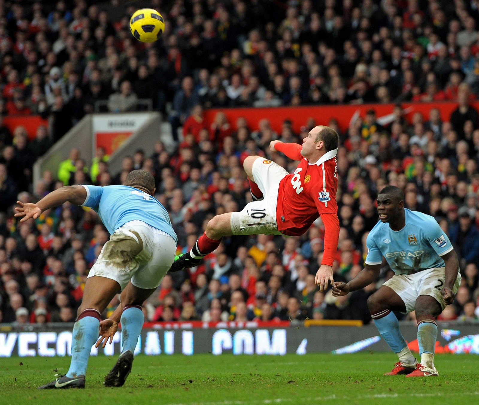 Wayne Rooney Overhead Kick Vs Man City Video Superb Goal by Wayne Rooney Man Utd vs Manchester City