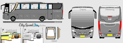 CS3-SkyActive -The Urban Soul- | BUS DESIGN