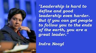 level 5 leadership indra k nooyi essay