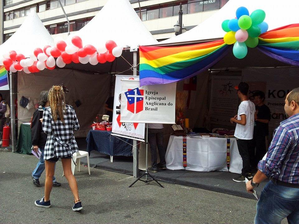 Anglicanos na Feira Cultural LGBT