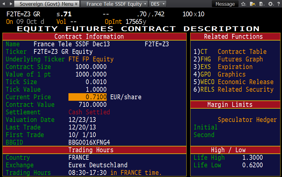 Bloomberg Guide - SECF Equity Subscreen | Singapore Quant