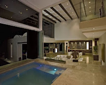 Modern House Design with Indoor Pool