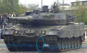 Tank Leopard 2A6 Germany