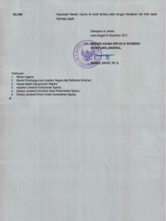 Pengumuman Kelulusan Test CPNS K2 Kemenag Kementerian Agama Tahun 2013 dari Pelamar Umum (4)