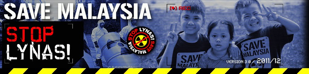 Save Malaysia, Stop Lynas!