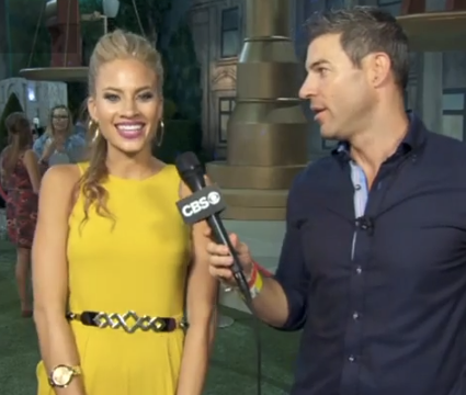 Big Brother 16 Backyard Interview Amber