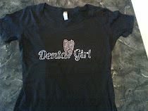 Dental Girl Rhinestone Tee Scoop Neck