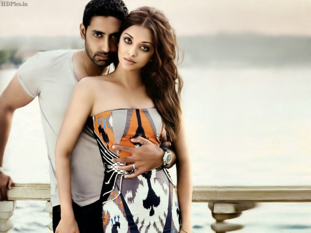 Aishwarya Rai Hot hd wallpapers with Abhishek