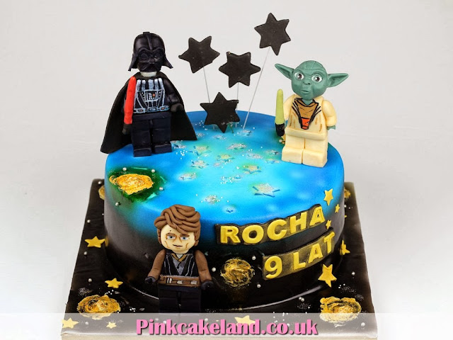 Lego Star Wars Birthday Cakes in London