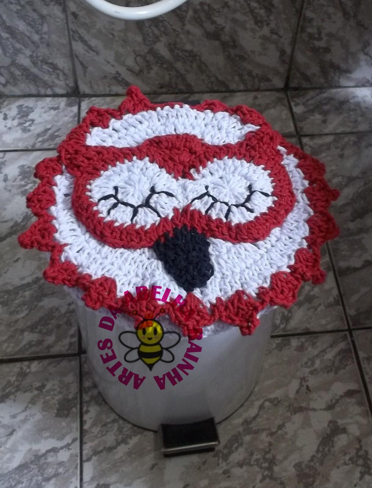 Jogos De Banheiro Vermelho E Branco : Artes da abelha rainha jogo de banheiro corujas