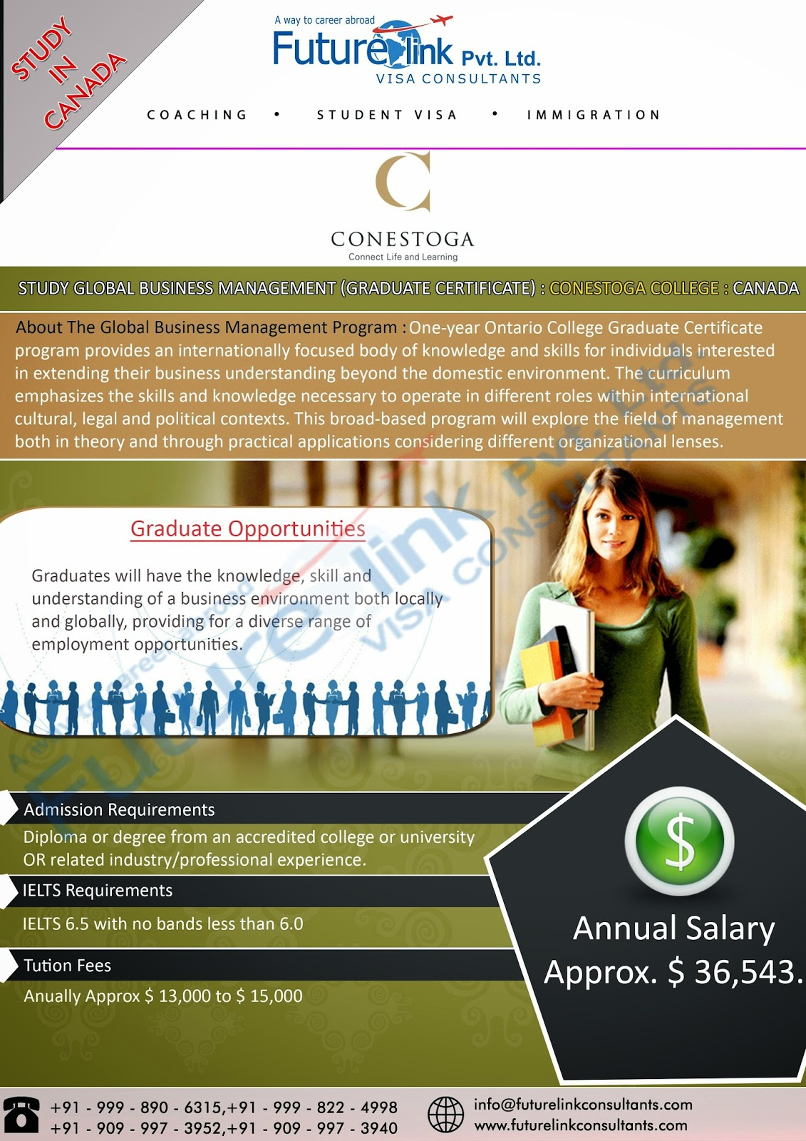 Future Link Consultants Canada Immigration Visa Consultants Student