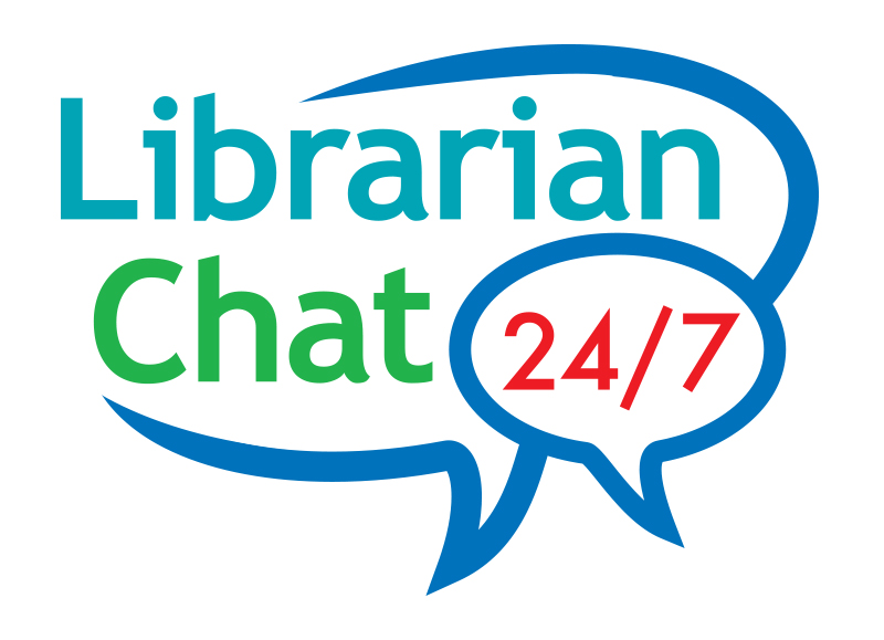 A symbol for ask a librarian