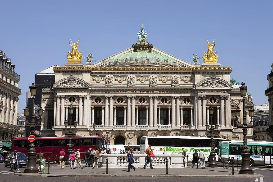 imagenes de la opera de garnier paris