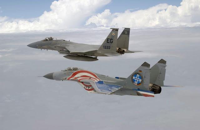 USAF F-15 German Mig-29