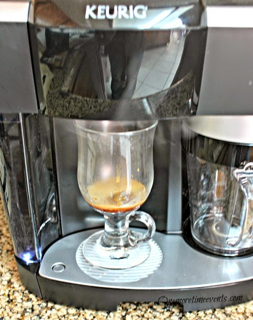 Keurig Cappuccino latte system at One More Time Events.com