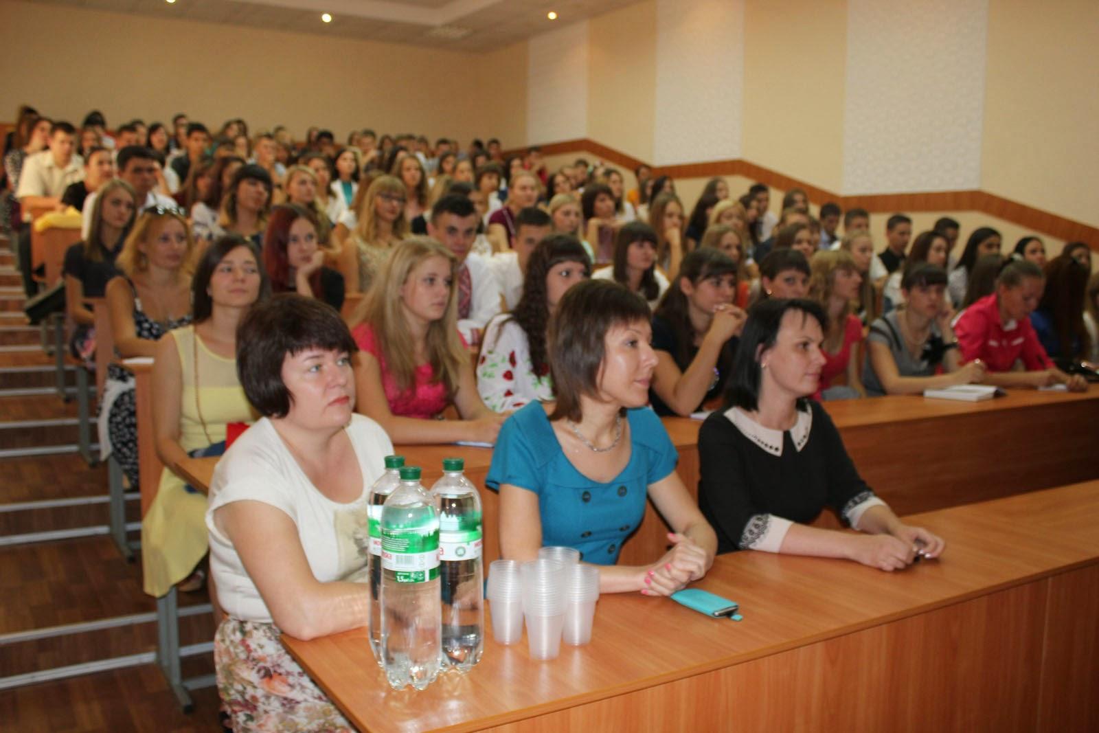 Посвята у студенти на обліково-фінансовому факультеті. Фото 1.