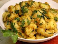 Batatas com Feno-Grego (vegana)
