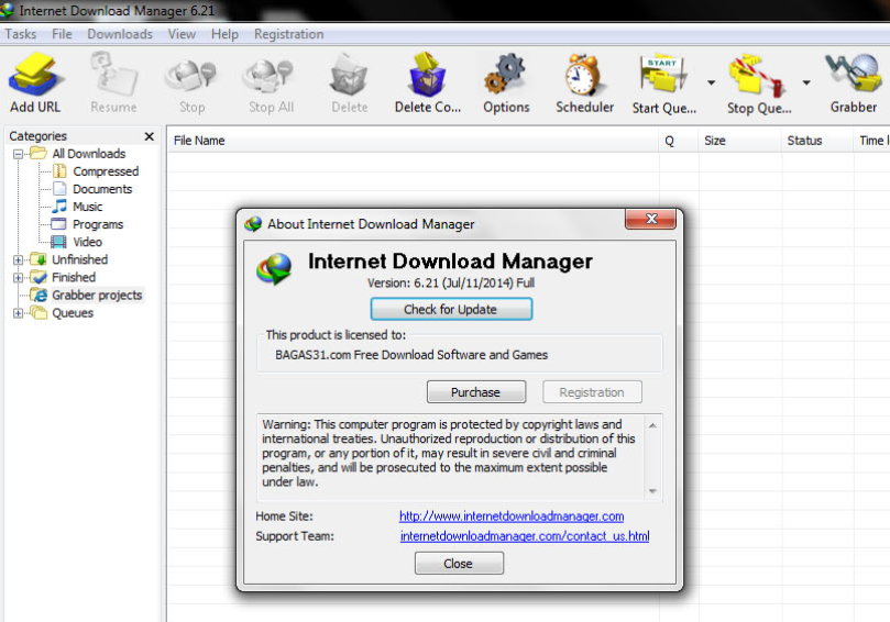 Download Internet Download Manager 6.21 Full