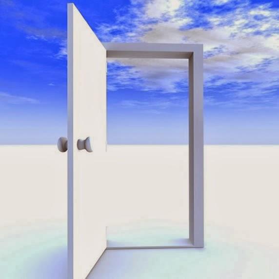 My creativity room has no walls, just an open door.