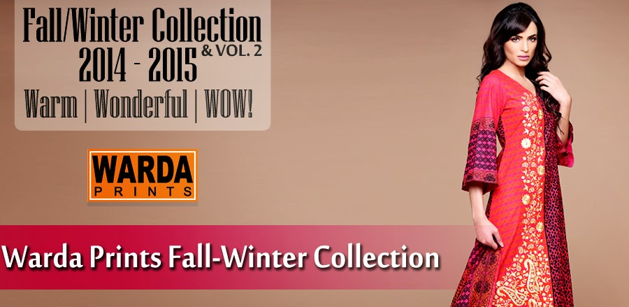 WardaPrintsFall WinterCollection2014 2015 wwwfashionhuntworldblogspotcom 0001 - Winter Collection 2014  By Warda Prints vol  2