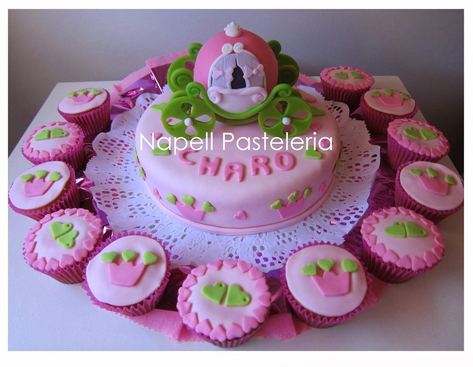 Torta Carroza de Princesa