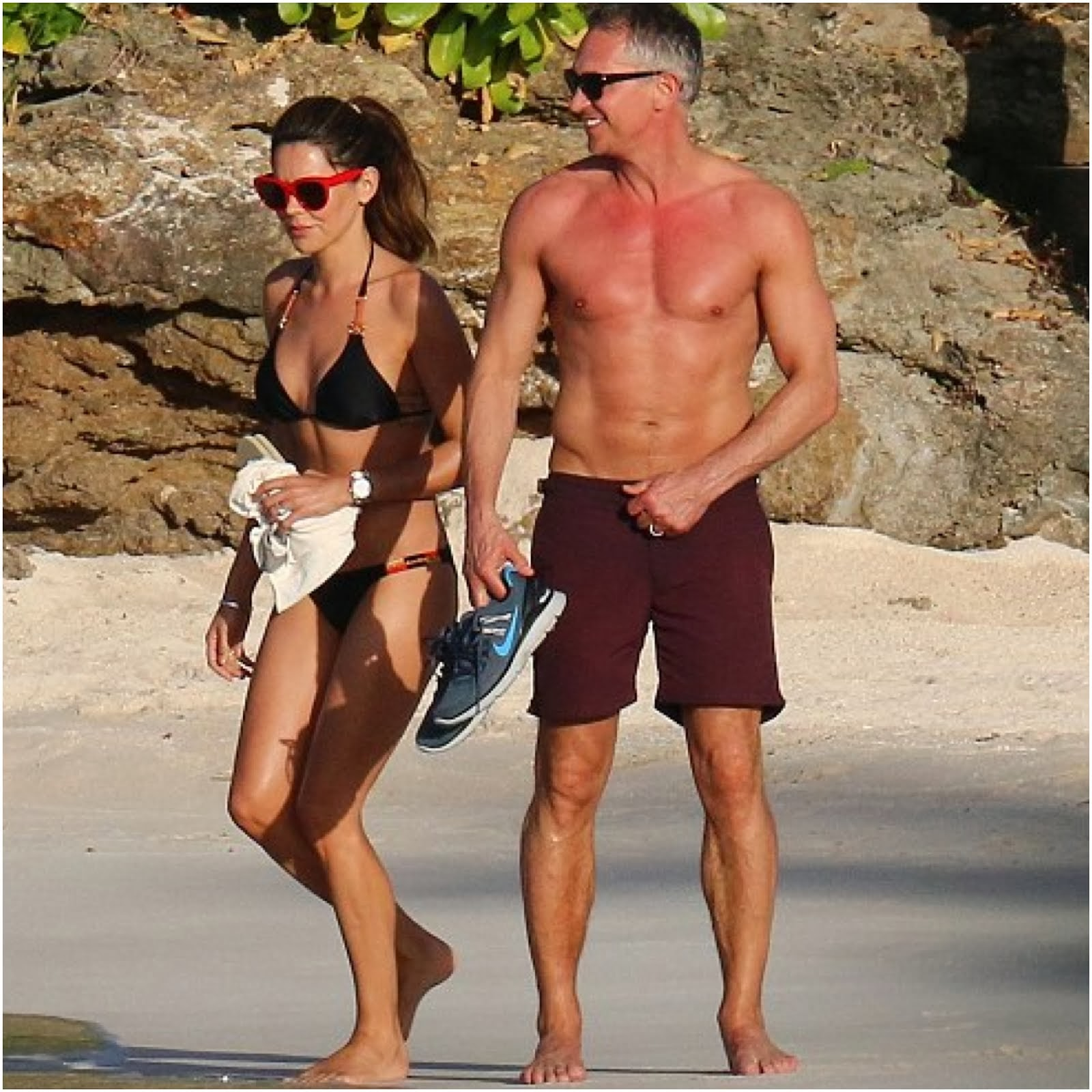 Gary Lineker in Orlebar Brown - St Bart's Beach Style