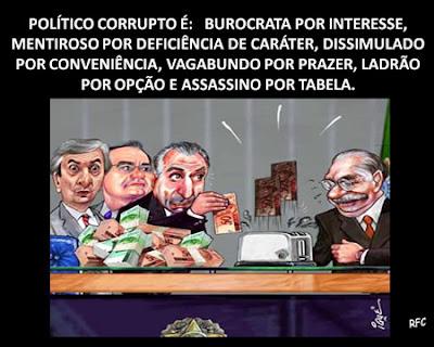 Definição de Político Corrupto