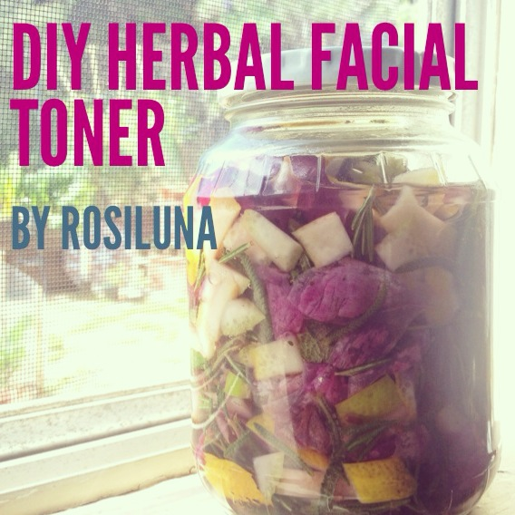 DIY Herbal Facial Toner