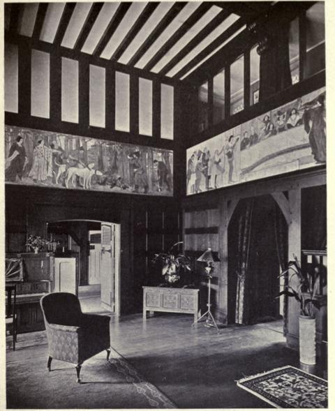 an elven living room