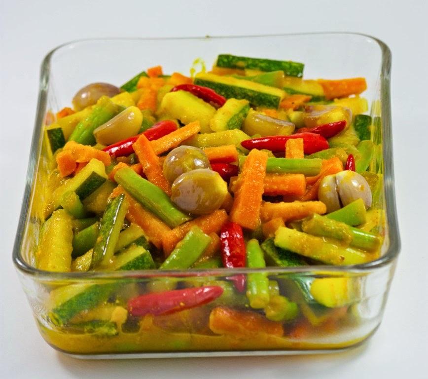 Resep Acar Kuning Sayuran Enak | Resep Masakan Terbaru
