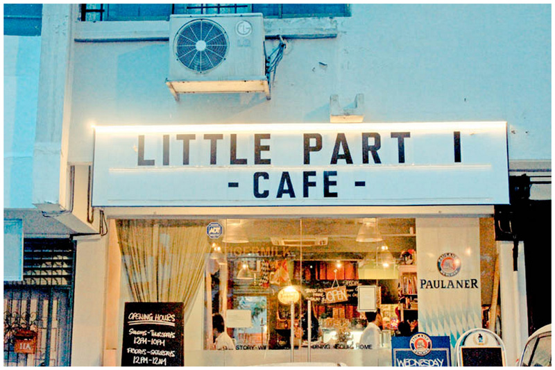 Image result for little part 1 cafe