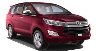 Toyota Innova Crysta Car Rental Delhi 2021