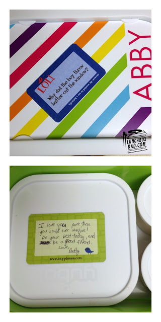Lunchbox Love Notes and yubo