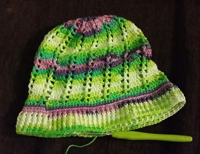 crochet hat size guide chart